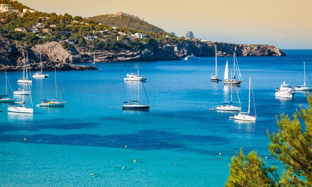 Strand Cala Tarida - Ibiza