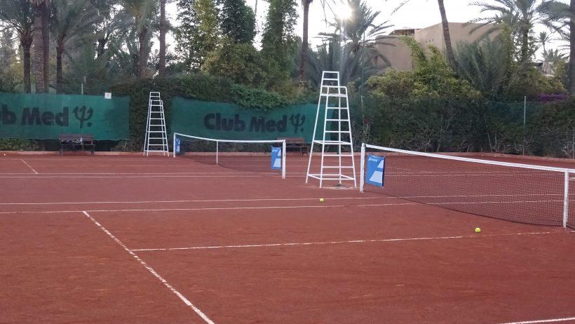 Tennisbaan Club Med La Palmeraie