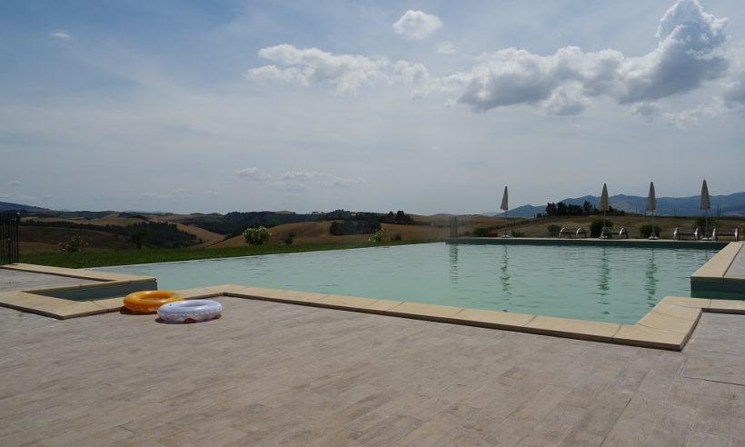 Zwembad Agri Diacceroni bijgebouw, Toscane