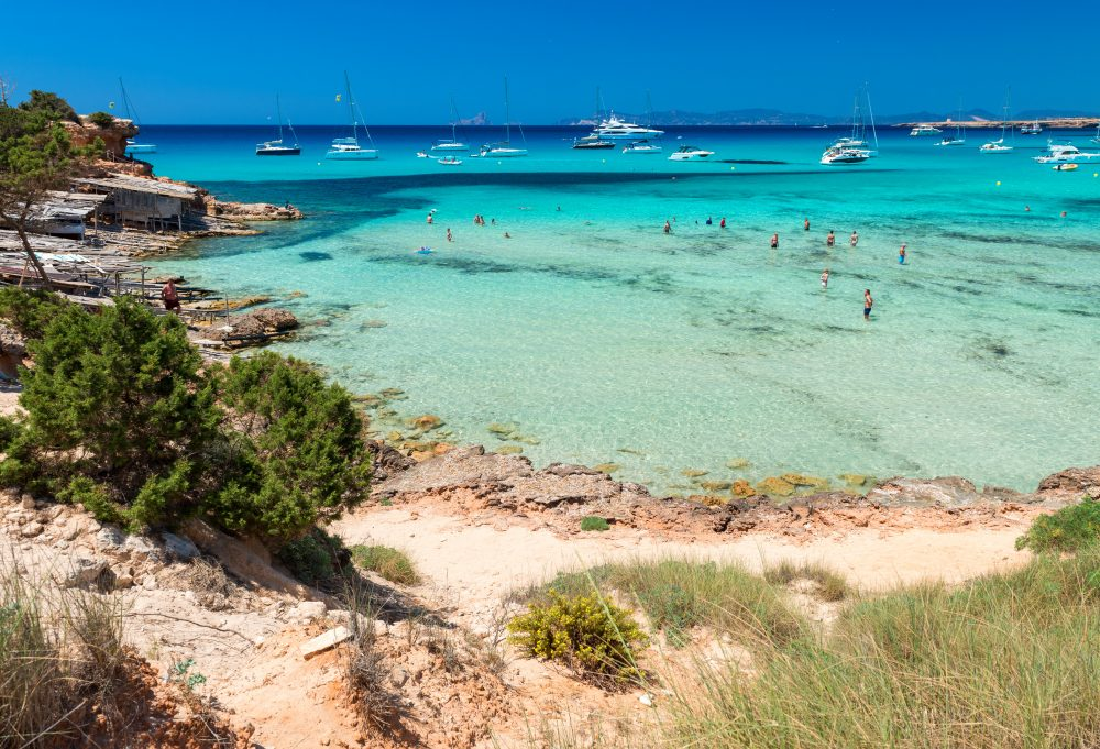 Cala Saone, Formentera