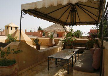 Dakterras riad in Marrakech
