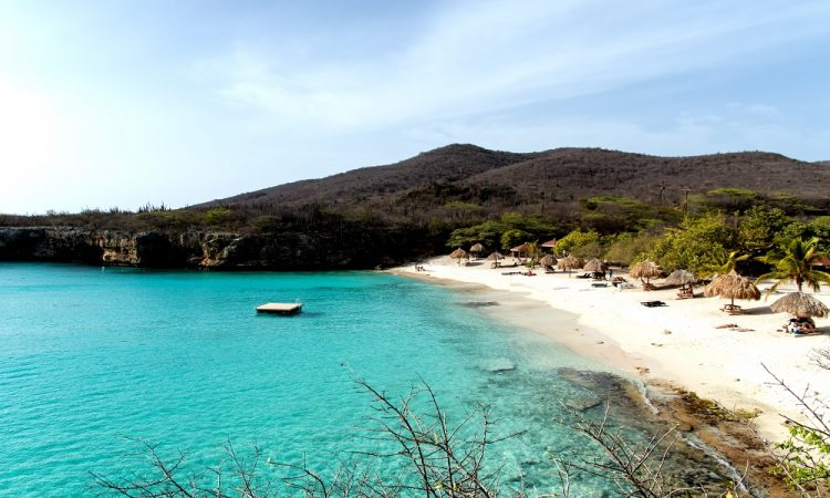 Grote Knip Curacao - strand