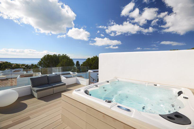 Sensatori Resort Ibiza jacuzzi