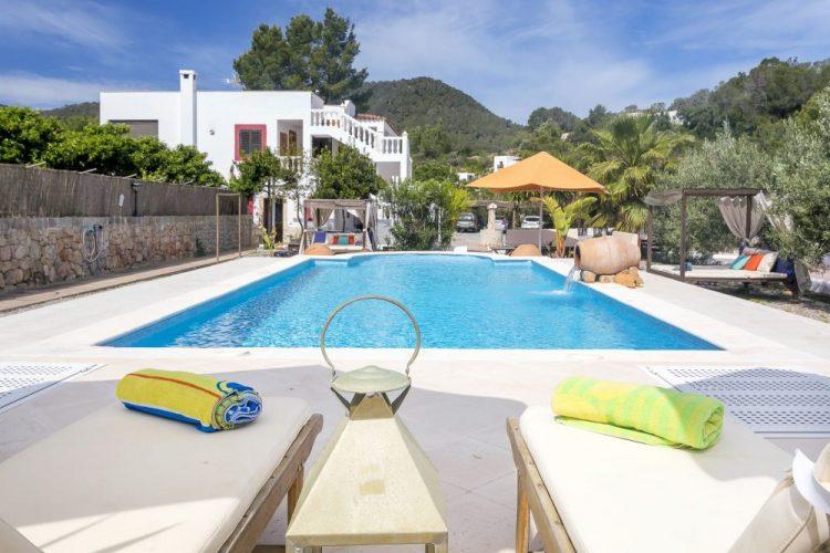 Villa Felisa zwembad - Ibiza