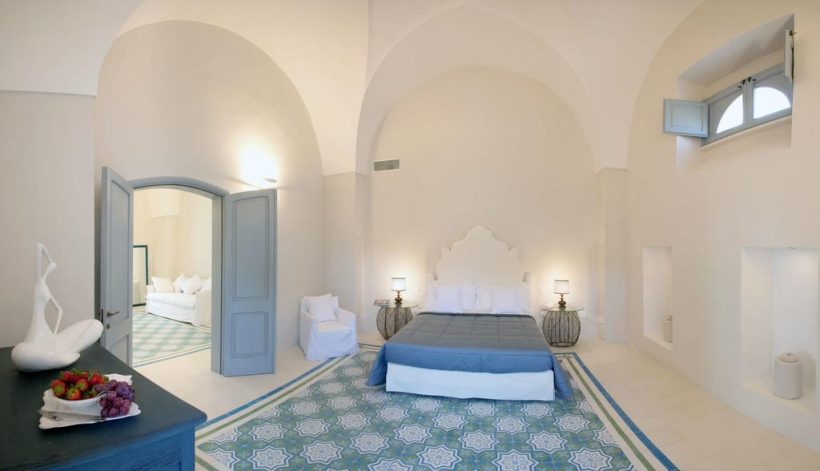 Masseria Li Foggi slaapkamer