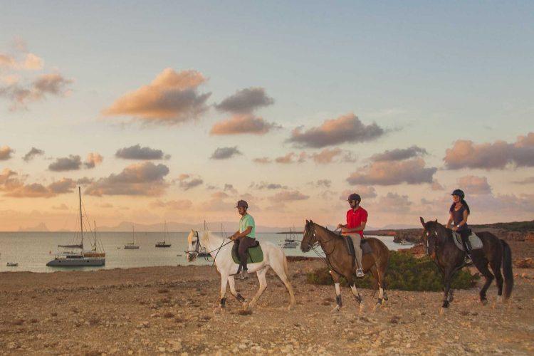Paardrijden Formentera
