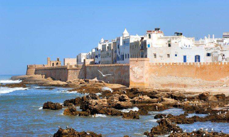 Blauwe stad Essaouira