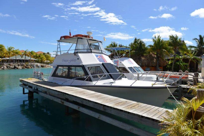 Boten Ocean Encounters duikschool LionsDive