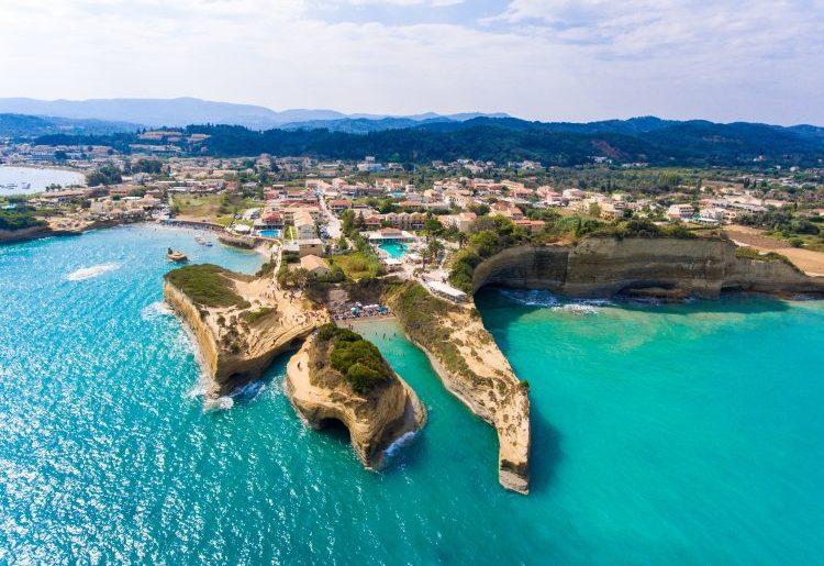 Canal D'Amour in Sidari, Corfu