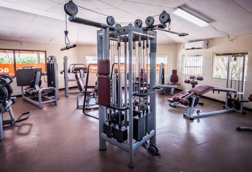 Fitnessruimte LionsDive