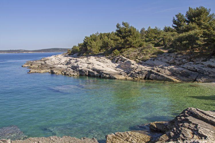 Kamenjak in Istrie