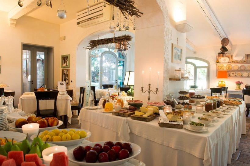 Masseria Salinola eetzaal