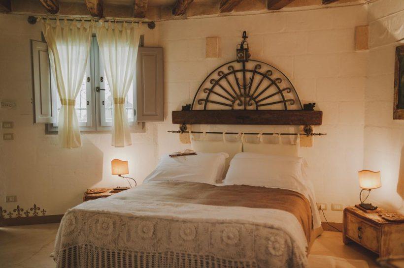 Slaapkamer Masseria Montenapoleone