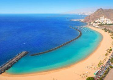 Strand Las Teresitas in Santa Cruz de Tenerife