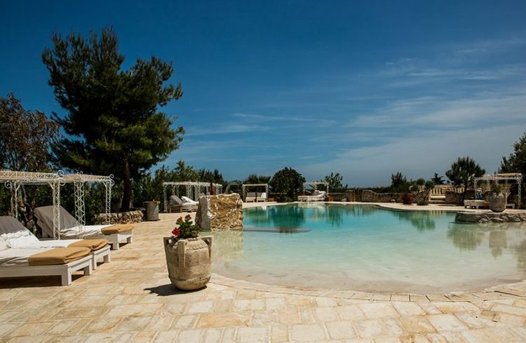 Zwembad Masseria Montenapoleone