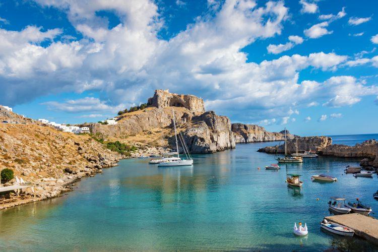 St. Paul´s Bay - Lindos - Rhodos