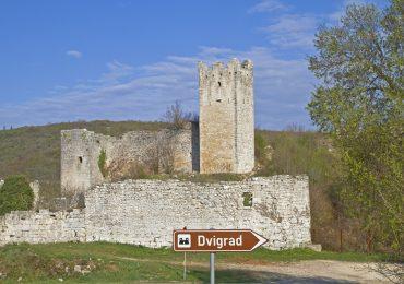 Dvigrad ruïnes - Kroatie