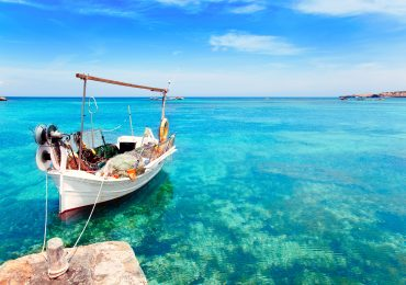 Els Pujols strand in Formentera