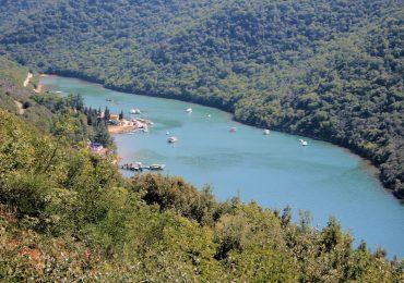 Lim Fjord, Istrie, Kroatie
