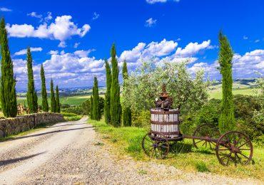 Landschap Toscane, Italie