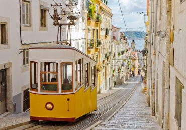 Tram Lissabon - Portugal