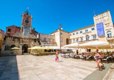 Zadar in Kroatie