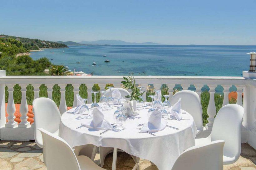 Hotel Sonia Resort uitzicht – Chalkidiki