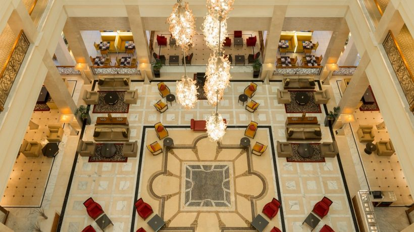 Lobby The Westin Dubai Mina Seyahi