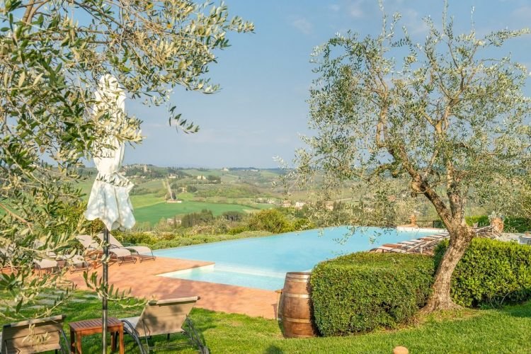 Borgo Divino uitzicht - Toscane